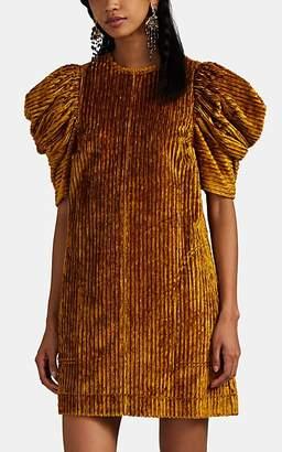 Ulla Johnson Women's Callahan Corduroy Minidress - Gold