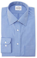 Eagle Regular Fit Blue Check Dress Shirt