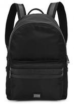 Dolce & Gabbana Black Leather-trimmed Nylon Backpack