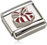 "Nomination Composable Women ""s Charm Gift Stainless Steel Red Enamel 330204 / 06"