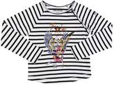 Zadig & Voltaire Skeleton Striped Cotton Jersey T-Shirt