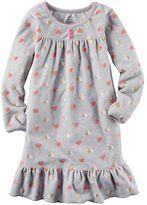 Carter's Girls 4-14 Ruffle Nightgown