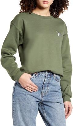 Topshop Emoji Sweatshirt