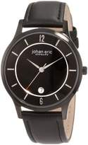Johan Eric Men's JE2003-13-007 Hobro Dial Leather Watch