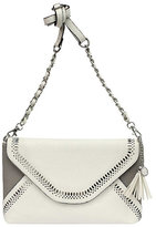 Jessica Simpson Hazel Color-Blocked Flap Cross-Body Bag
