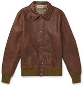 Levi's Strauss Leather Jacket - Brown
