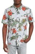 Hurley Men's Montauk Print Woven Shirt
