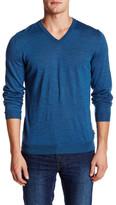 HUGO BOSS Melba V-Neck Wool Sweater