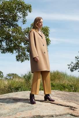 Mansur Gavriel Cashmere Classic Coat - Camel