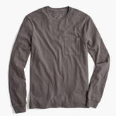 J.Crew Long-sleeve garment-dyed T-shirt