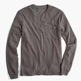 J.Crew Tall long-sleeve garment-dyed T-shirt