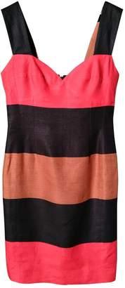 Pierre Balmain \N Red Linen Dress for Women Vintage