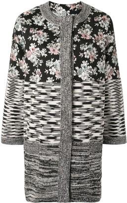 Antonio Marras Panelled Knitted Cardi-Coat