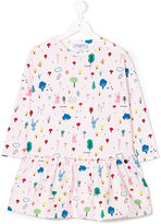 Simonetta rabbit print dress
