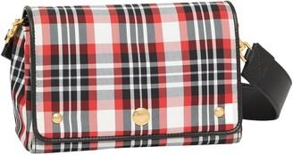 Burberry Hackberry Tartan Nylon Crossbody Bag