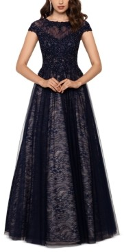 Xscape Evenings Embroidered Lace Ballgown