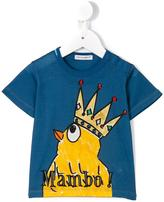 Dolce & Gabbana Mambo bird print T-shirt - kids - Cotton/Viscose - 3-6 mth