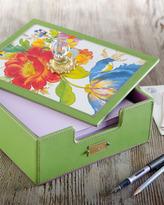 """Mackenzie Childs MacKenzie-Childs """"Flower Market"""" Desk Box"""