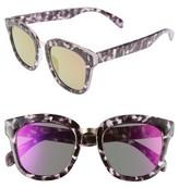 BP Women's 55Mm Sunglasses - Black Marble