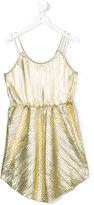 Une Fille - pleated dress - kids - Elastodiene/Polyester - 12 yrs