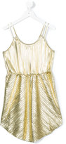 Une Fille - pleated dress - kids - Polyester/Elastodiene - 12 yrs