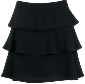 Alberta Ferretti tiered ruffle skirt