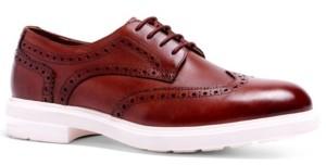 Anthony Logistics For Men Veer Men's Harrison Hybrid Wingtip Lace-Up Casual Oxford Dress Shoes Men's Shoes