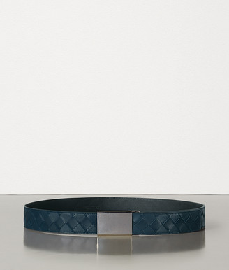 Bottega Veneta Belt In Intrecciato French Calf