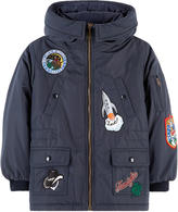 Dolce & Gabbana Waterproof parak with fancy patches