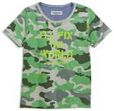 Sovereign Code Boys' Camouflage I'll Fix the World Tee - Little Kid