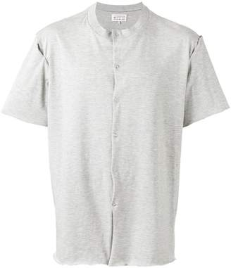 Maison Margiela button front T-shirt