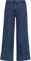 Current/Elliott The Cropped denim culottes