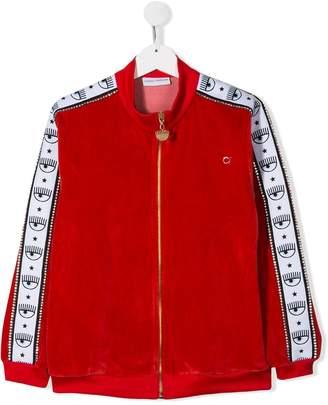 Chiara Ferragni Kids TEEN Logomania track jacket