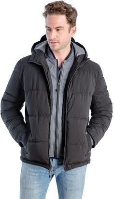 London Fog Big & Tall TOWER By Chazy Hooded Parka
