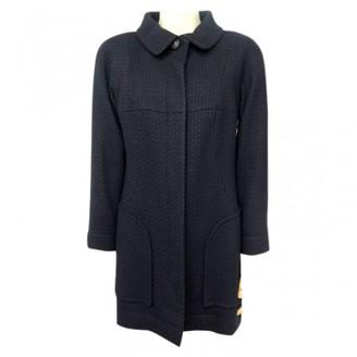 Chanel Blue Tweed Coats