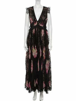 Giambattista Valli 2019 Long Dress w/ Tags Black