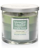 Yankee Candle simply home Winter Pine Tri-Pour 10-oz. Jar Candle