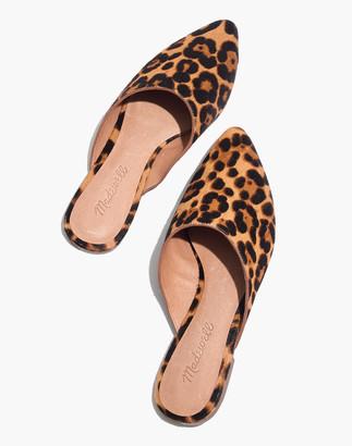 Madewell The Remi Mule in Leopard Calf Hair