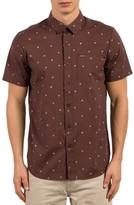 Volcom Men's High Ace Print Shirt