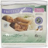 Protect A Bed Protect-A-Bed AllerZip Waterproof Bed Bug Proof Zippe Bedding Encasement, Size (Fits 7 - 12 in. H)