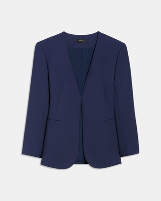 Theory Lindrayia Blazer in Good Wool