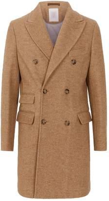 Eleventy Alpaca-Blend Coat