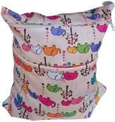 "Panda Superstore Elephant Wet Bags Waterproof Diaper Bag Multi-function Nappy Bag -14""*11"""