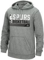 adidas Men's San Antonio Spurs Icon Status climawarm Hoodie