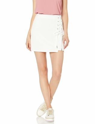 Cupcakes And Cashmere Women's singeria Denim Mini Skirt