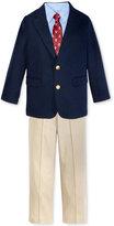 Nautica 4-Pc. Suit Jacket, Shirt, Pants & Necktie Set, Toddler & Little Boys (2T-7)