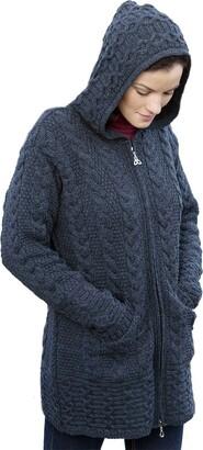 Westend Knitwear The Irish Store - Irish Gifts from Ireland Women's Coat Charcoal Medium