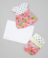 Dollie & Me Hot Pink Present Doll Dress & Greeting Card - Girls