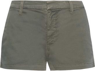 J Brand Clara Cotton-blend Twill Shorts