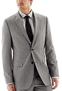 JCPenney JF J. Ferrar® Gray Slim-Fit Suit Jacket